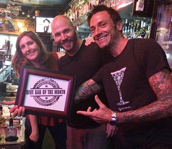 Aero club bartenders